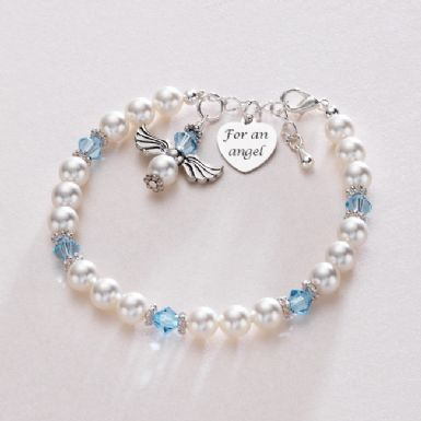 Guardian Angel Birthstone Bracelet | Someone Remembered